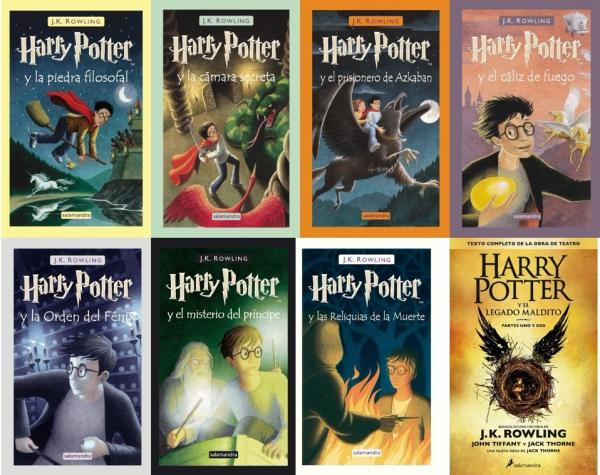 saga fantasia recomendada harry potter