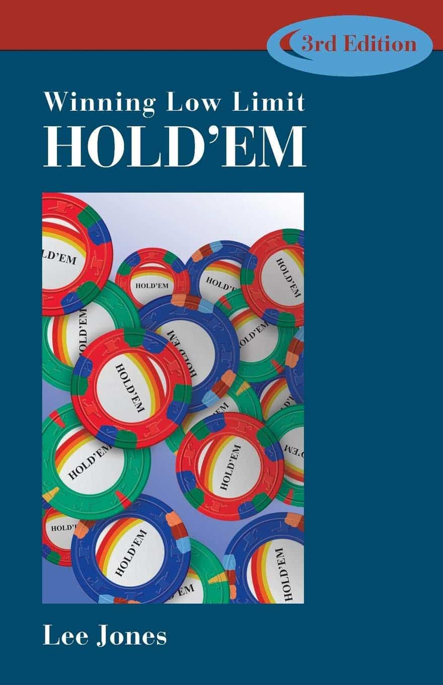 Portada del libro de poker Winning Low Limit Hold'em de lee jones