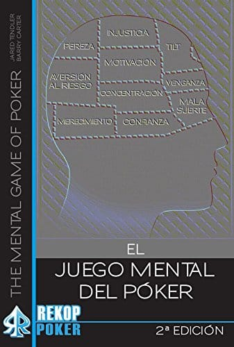Portada del libro El juego mental del poker de Jared Tendler y Barry Carter