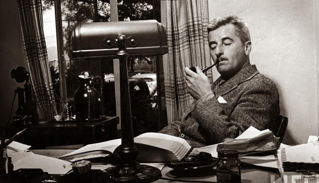 Autor estadounidense, William Faulkner