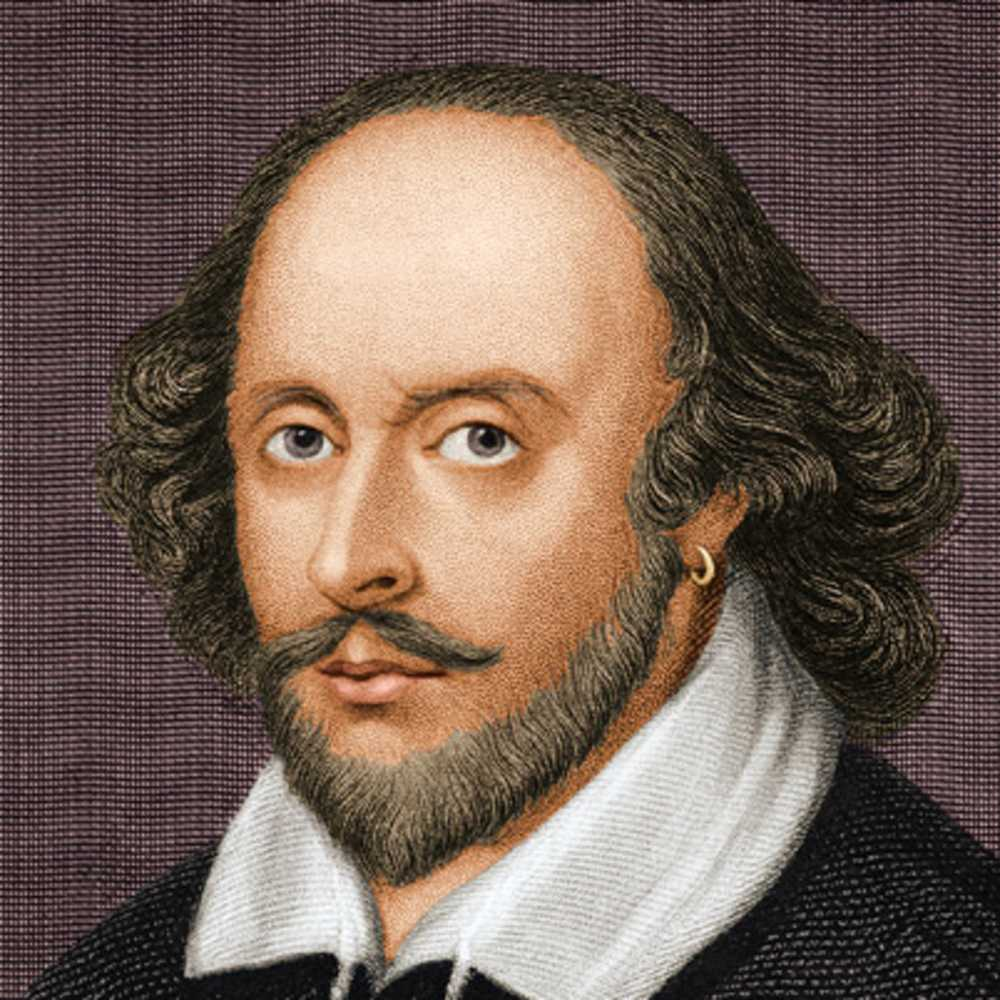 El dramaturgo William Shakespeare