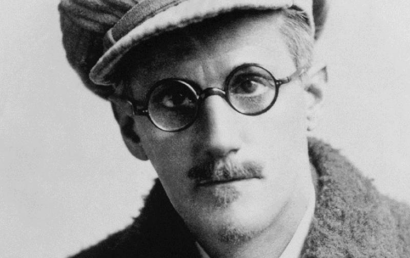 El escritor James Joyce