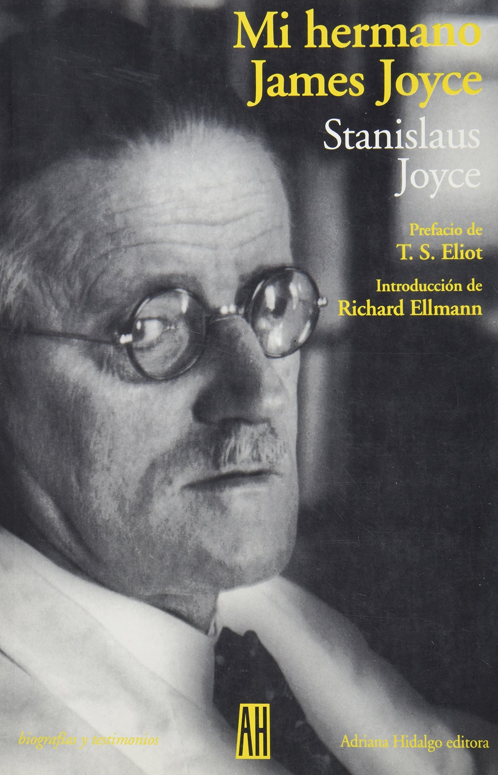 "Portada del libro ""Mi Hermano James Joyce"""